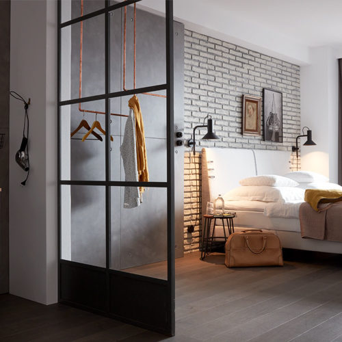 Slaapkamer met badkamer
